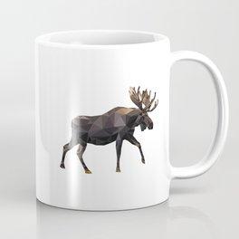 Polygon geometric Moose Coffee Mug