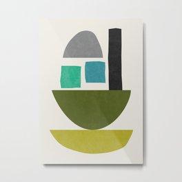 Abstract No.21 Metal Print
