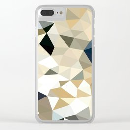 Neutral Tris Clear iPhone Case