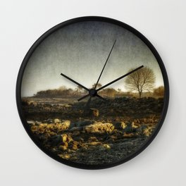 Promises of Spring Wall Clock