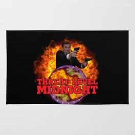 Threat Level Midnight Rug