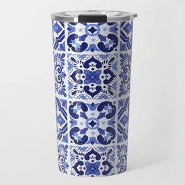 Mediterranean Tiles Design Nº1 Travel Mug