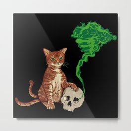 Nekomata cat Metal Print