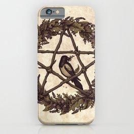 Botanical Pentacle: Wild Witch iPhone Case