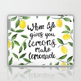 When Life gives you Lemons, make Lemonade Laptop & iPad Skin