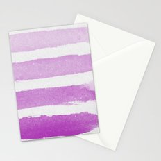 Purple Ombre  Stationery Cards
