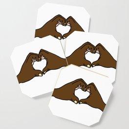 Heart Hands Coaster
