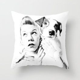 Goofy'n'me Throw Pillow