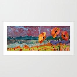 Campsite Request Art Print