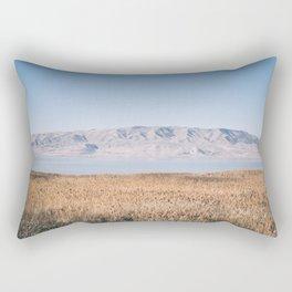 Utah Lake II Rectangular Pillow