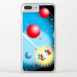 Splitting the Atom Clear iPhone Case