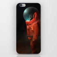 astronaut iPhone & iPod Skins featuring Astronaut by Kirk Pesigan