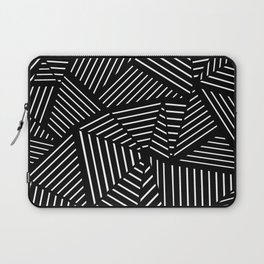 Ab Linear Zoom Black Laptop Sleeve