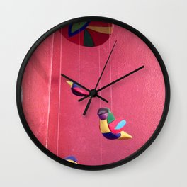Three birds Wall Clock