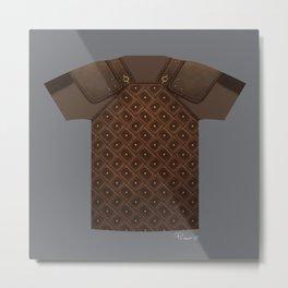 Armor Series: Studded Leather Shirt Metal Print