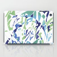 dolphins iPad Cases featuring DOLPHINS by Alex Rocha