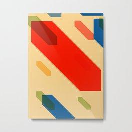 Cubes Cube N.2 Metal Print