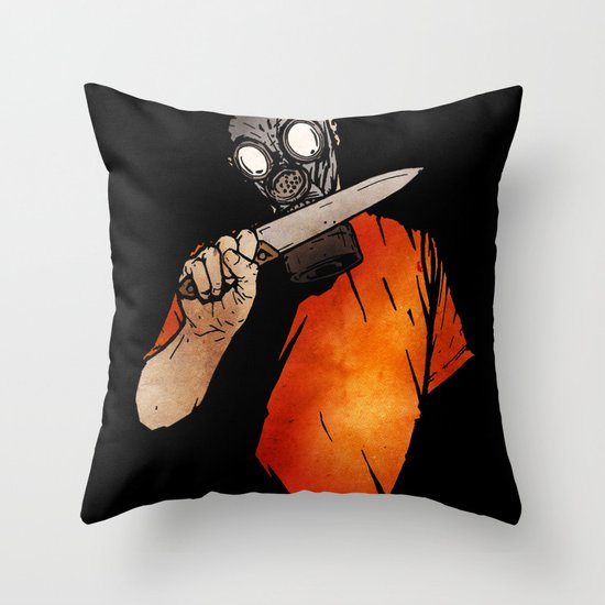 Knives Out Throw Pillow