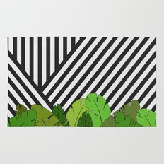 Green Direction Rug