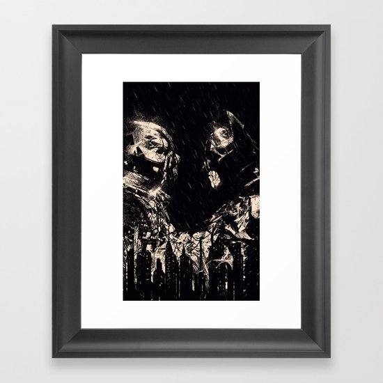 VERSUS Framed Art Print
