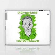 Compulsive Liar, Punching Bag, Anti-Hero:  Benjamin Linus Laptop & iPad Skin
