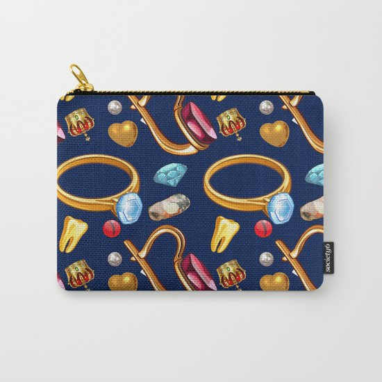 gold party Carry-All Pouch