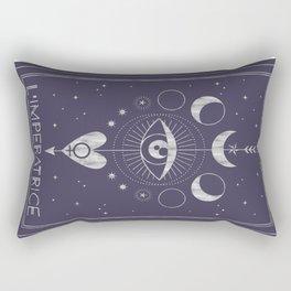 L'Imperatrice or L'Empress Tarot Rectangular Pillow