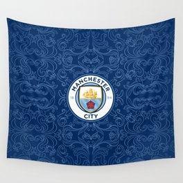 Manchester City  Sport Football Wall Tapestry