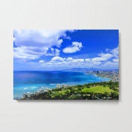 Waikiki Metal Print