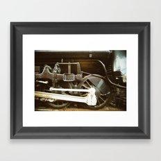 Running Gear Framed Art Print