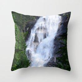 Shannon Falls Throw Pillow