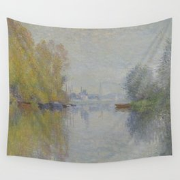 Autumn on the Seine, Argenteuil Wall Tapestry