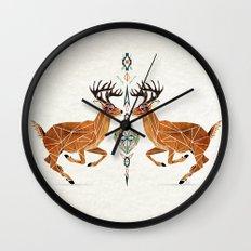 deer love Wall Clock