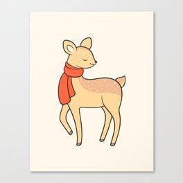 Doe deer Canvas Print