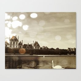Extensive grounds Canvas Print