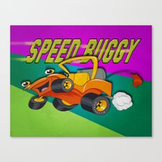 Speed Buggy Canvas Print
