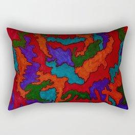 Synapses Firing Rectangular Pillow