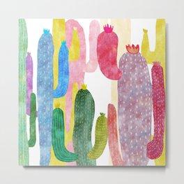 color cactus Metal Print