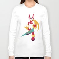 megaman Long Sleeve T-shirts featuring Megaman Zero by JHTY