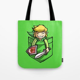 HAPPY POCKET LINK Tote Bag