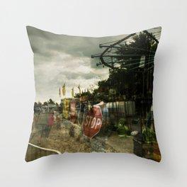 Last Carnival Throw Pillow