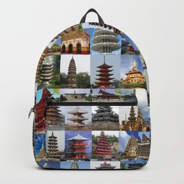 Pagodas Montage Backpack