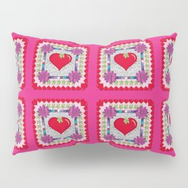 PATTERN - STRAWBERRY HEART? Pillow Sham