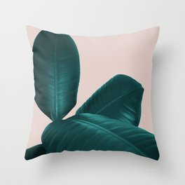 Ficus Elastica #4 #art #society6 Throw Pillow