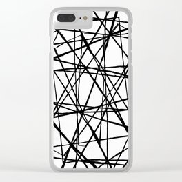 Wire Barrier Clear iPhone Case