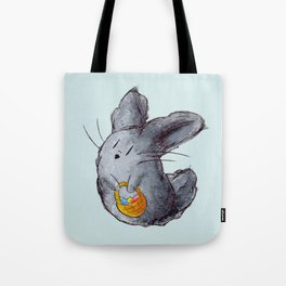 Dusty Easter Bunny Tote Bag