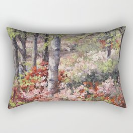 Stars of Spring — Azaleas Rectangular Pillow