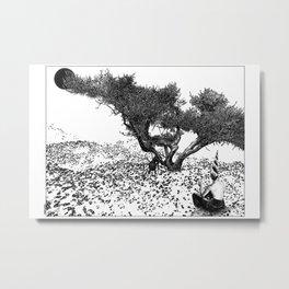 asc 784 - Le printemps des merveilles (She makes wonders) Metal Print