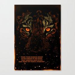 Tyger Tyger Canvas Print