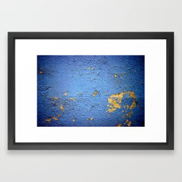 a blue true dream Framed Art Print
